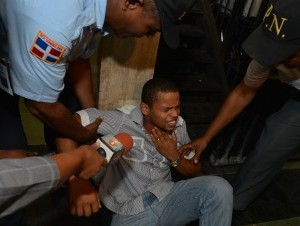 Rafael Silverio, camarógrafo golpeado.