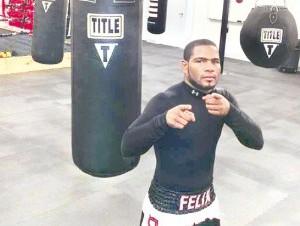 Félix Díaz peleará esta noche en Carolina, Puerto Rico.