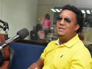 Pedro Martínez durante la entrevista en