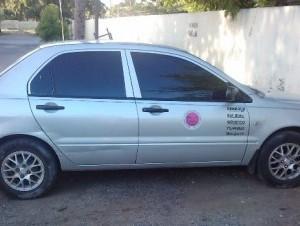 El vehículo está bajo el control del Ministerio Público.
