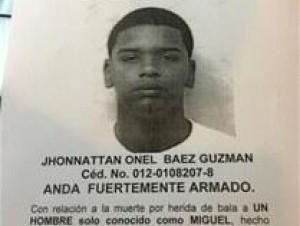 Jhonnatán Onel Báez Guzmán.