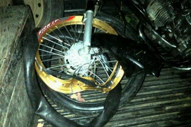 Accidente de motocicleta (archivo).