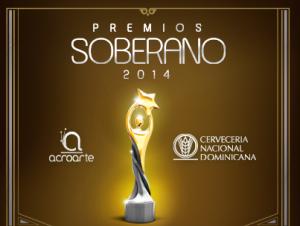 Premios Soberano 2014.