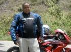 El reportero gráfico Newton González, asesinado en Santiago por desconocidos.