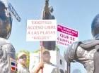 Trabajadores informales piden mejoría de condiciones al Gobierno.