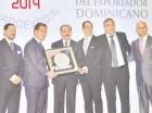 El presidente Danilo Medina entregó la placa a Barceló Export, Import.