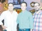 Luis Romero, Lisandro Macarrulla y Reynaldo Alegría.