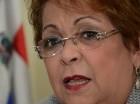 La ministra de la Mujer, Alejandrina Germán.