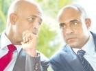 Michel Martelly y Laurent Lamothe en una pasada reunión.