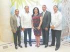 Clemente Perdomo, Fermín Acosta, Miguelina Santana, Narciso Guzmán y Bienvenido Paulino.