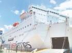 La droga fue incautada en un vehículo que estaba a bordo del Ferry.