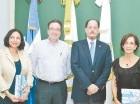 Daisy López de Vidal, Carlos Acero Ruiz, Eugenio Garrido Saviñón y Amaya Salazar.