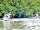 Las autoridades recorrieron la Laguna de Perucho, en María Trinidad Sánchez.