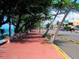 Malecón de Puerto Plata.