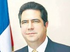 Francisco Javier García, aspirante a la presidencial en el PLD.