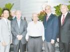Minoru Karrero, José Luis Corripio, Cesáreo Contreras, Fernando Contreras y Marcos Dionicio.