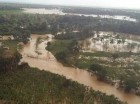 Inundaciones en Nagua.