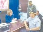 El jefe de la Policía visitó las autoridades en Cotuí para avanzar las pesquisas.