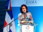 La Primera Dama habla en la conferencia sobre el Síndrome de Down.