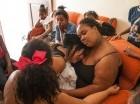 Familiares lloran la muerte de  García.