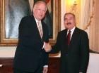 El mandatario trató asuntos referentes a la Cumbre de Las Américas y las relaciones con Haití con asesor estadounidense.