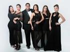 """Elenco de actores de la producción """"Divas, Karaoke, Show"""", la cual estará en escena del 15 al 31 de mayo en el teatro de Maniquí, de la Plaza de la Cultura."""