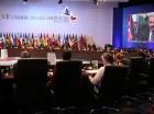 El presidente intervino el sábado en las plenarias de la Cumbre de las Américas en Panamá.