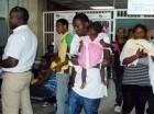 Haitianos en un hospital de RD.