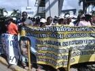 Cañeros marcharon ayer para exigir el pago de pensiones.