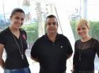 Kimberly Sánchez, Wally Mathis y Rocío Rivera.