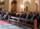 A la misa en la Catedral acudieron líderes empresariales y políticos.