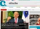 elCaribe es uno de los periódicos líderes en Twitter.