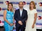 Rut Freites, Luis García Padilla y Carolina García.