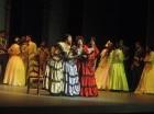 El Teatro Nacional Eduardo Brito fue el escenario para la puesta en escena de esta exquisita zarzuela.
