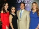Yolanda Linares, Pamela Dalmasí, Rubén Familia y Diana Familia.