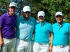 Integrantes del equipo La Colonial, ganadores del Pro-Am DR Open.