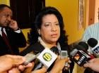 Cristina Lizardo, presidenta del Senado.