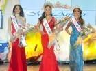 Michelle Alvarado Capellán, Saya Pérez Méndez y Arlene Alonzo Domínguez.