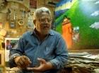 Dionisio Blanco afirma que con su arte  no busca competir, sino expresarse.