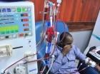 Paciente recibe tratamiento.