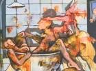 """""""El gozo"""", obra del artista Chichí Reyes, quien participará en la exposición."""