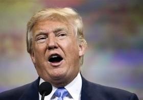 Donald Trump habla en una convención de armas en Nashville, Tennessee, 10 de abril de 2015.
