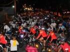 Decenas de personas acudieron a la bicicletada.