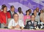 Pared Pérez y Mariotti Tapia hablaron en la Casa Nacional del PLD.
