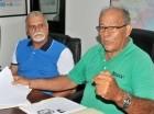 Roberto Reyes Corcino y Marcial Romero en visita a elCaribe.