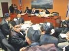 La audiencia se realizó ayer en la jurisdicción inmobiliaria.