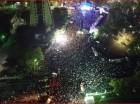 Publico que asistió al concierto que ofreció el gobierno haitiano. Foto tomada del portal lenouvelliste.com