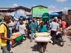 El comercio en la frontera con Dajabón se reanudó este lunes.