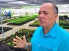 Silvio Durán explicó el plan de siembra en el río Yaque.