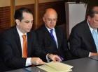 Carlos Fondeur y Francisco Domínguez Brito en la actividad.